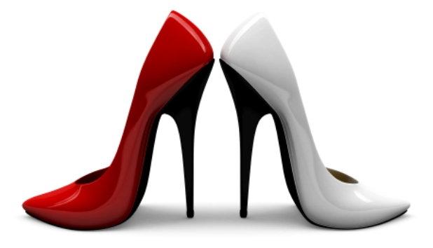 moda en zapatos tacones de aguja