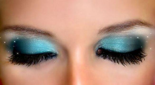 Maquillaje en tonos azules - Tonos azules ...