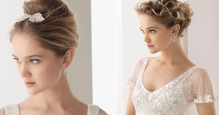 Peinados recogidos para novias for Recogidos altos para novias