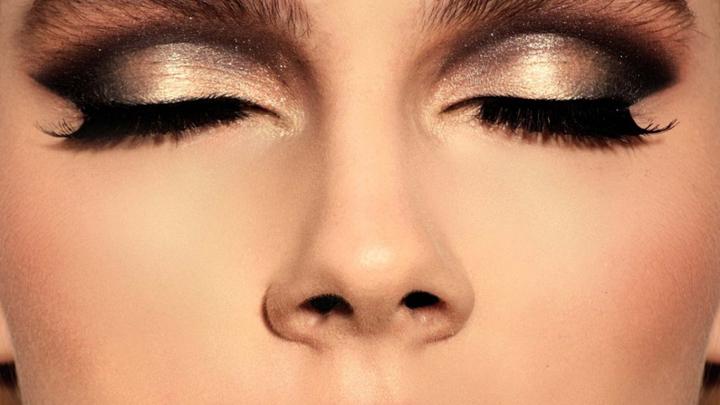 dorado maquillaje